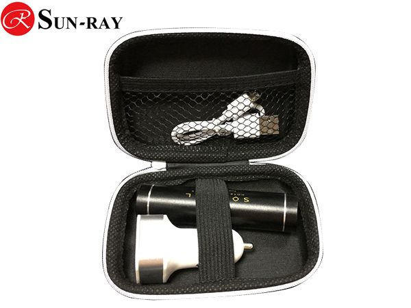 Promotion tiny tube powerbank and car charger gift set